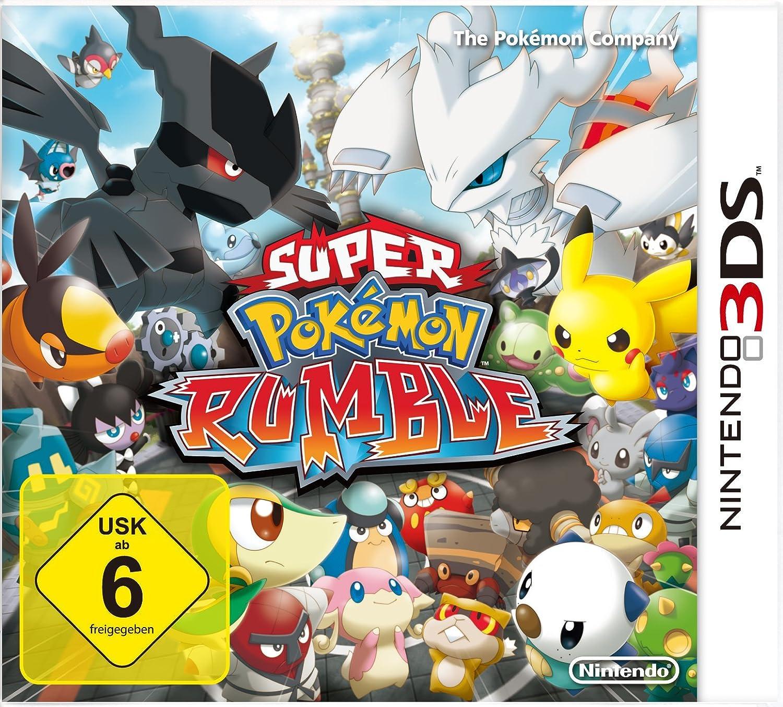 Nintendo Super Pokémon Rumble - Juego (Nintendo 3DS, Acción, Pokémon Company): Amazon.es: Videojuegos