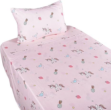J-pinno Pink Dinosaur Pillowcase 100/% Natural Cotton 20 X 30 for Kids Toddler Boys Girls Bedding Decoration 15