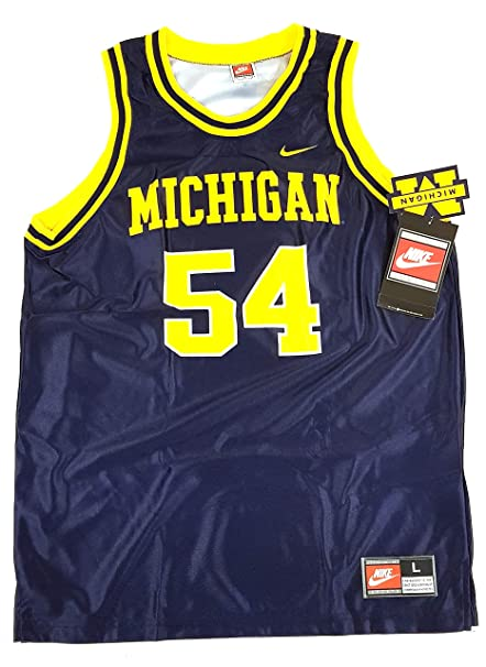 competitive price new lifestyle meet Nike Michigan Woverines NCAA Official Collegiate Maillot de ...