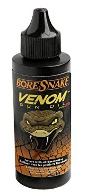Hoppe's BoreSnake Venom Gun Oil with T3, 4 oz. Bottle