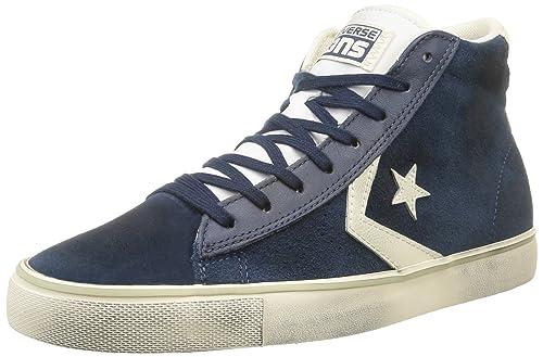 3884dc1103a1 Converse. Men. . pro leather vulc mid suede lth. blue (dress
