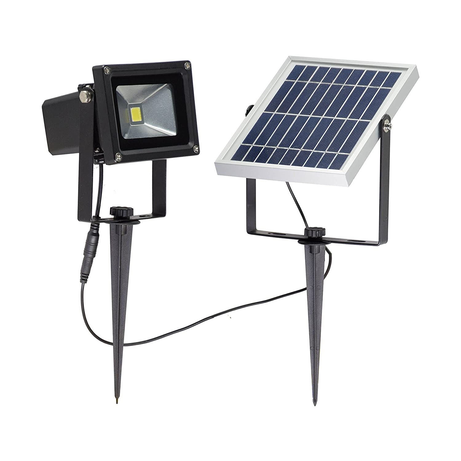 LED Solar Powered Dusk-to-Dawn Waterproof Outdoor Path