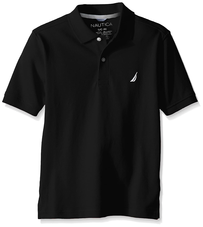Nautica Boys' Short Sleeve Solid Deck Polo Shirt N881702Q