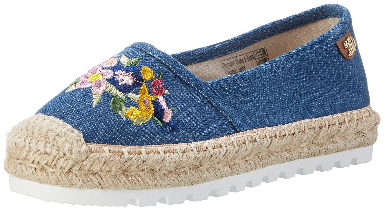 Tom Tailor 2796910, Espadrillas Basse Donna  Blu (Jeans 00270)