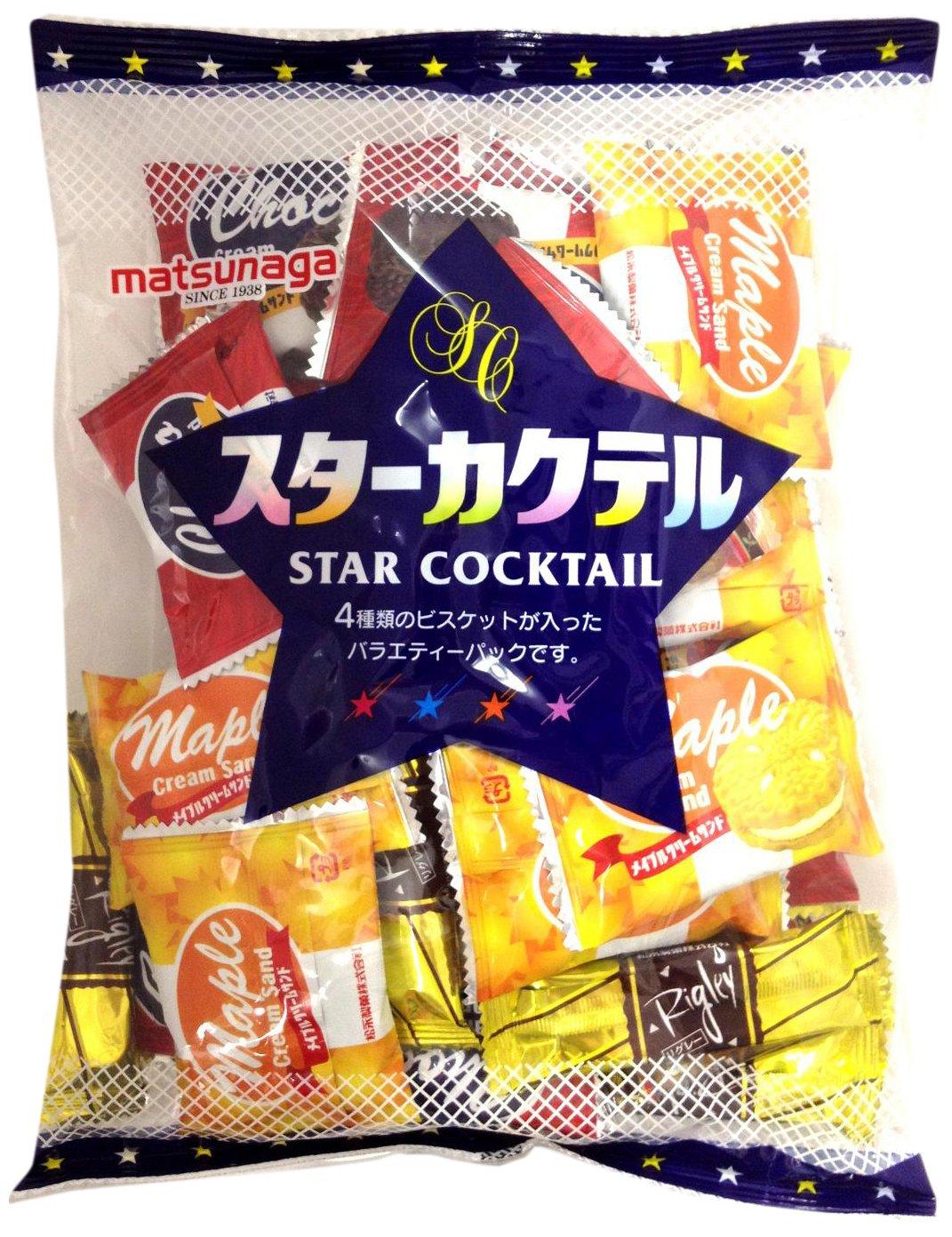 Matsunaga Konfekt Stern Cocktail 270gX12 Taschen