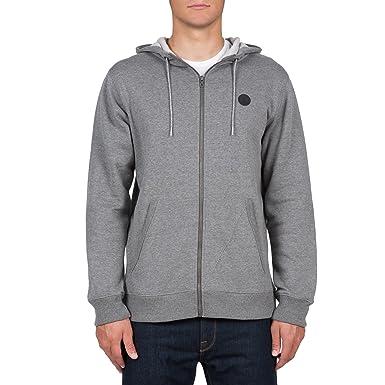 2703728a88888 Amazon.com  Volcom Men s Single Stone Zip Hoodie  Clothing