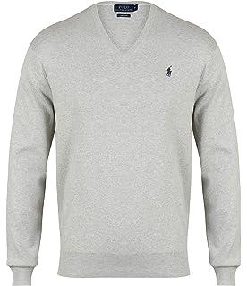 5a07ad9c621323 Polo Ralph Lauren LS SF VN PP, Pull De Sport Homme  Amazon.fr ...