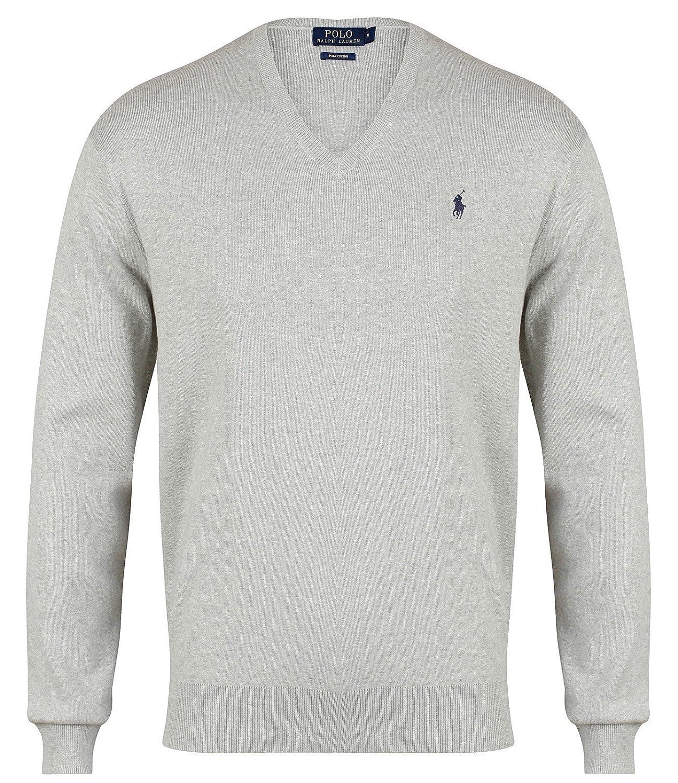 Ralph Lauren Polo Pima - Jersey de algodón con Cuello en V para ...
