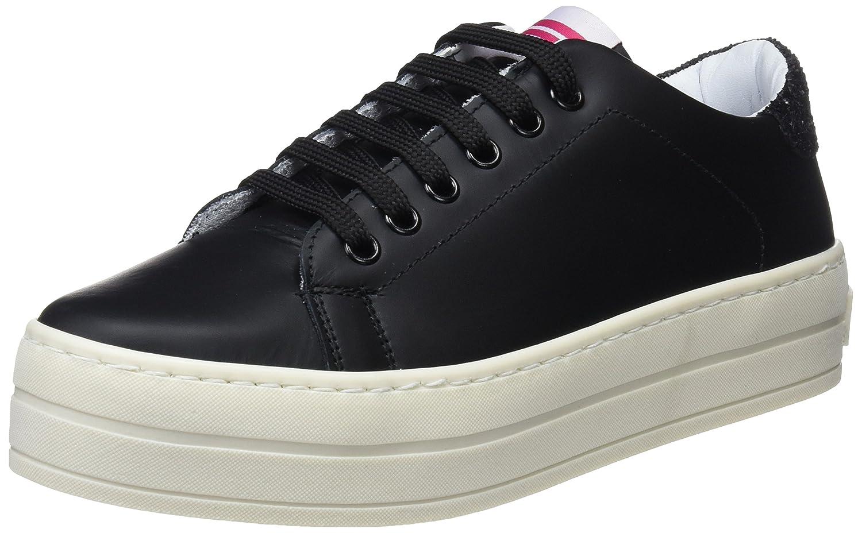 Fornarina Maxi, Zapatillas para Mujer 37 EU|Negro (Nero 00)