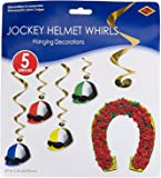 Beistle Derby Day Whirls (Value Pack: 10 Whirls)