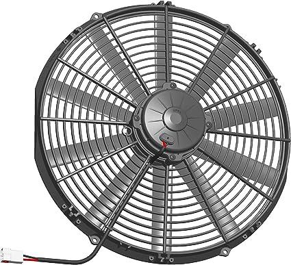SPAL Universal 12 V golpe Radiador de refrigeración ventilador 385 ...