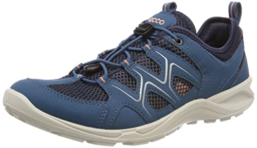 b4760aa8f08345 ECCO Damen Terracruise LT Trekking-   Wanderhalbschuhe Blau (Indian  Teal Marine Muted