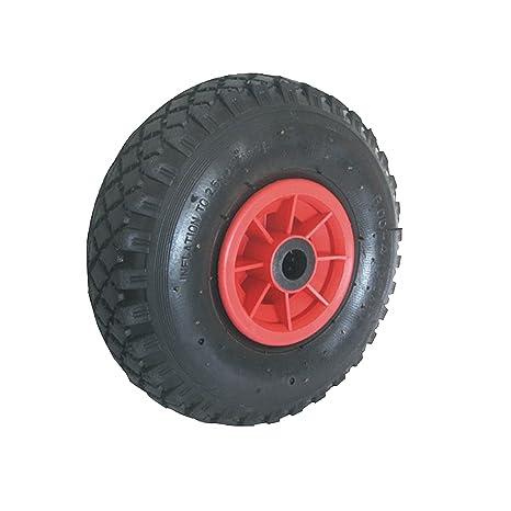 Rueda para carretilla 260 x 85 mm 300-4 rueda de plástico: Amazon.es: Industria, empresas y ciencia
