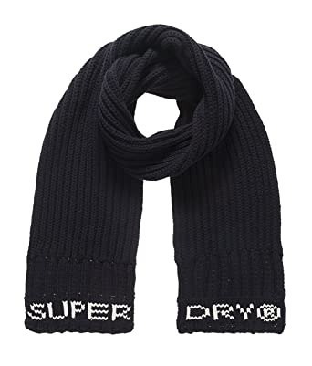 watch 07b55 e3b06 Superdry Herren Schal SD Tipped Scarf, blau (Navy11S ...