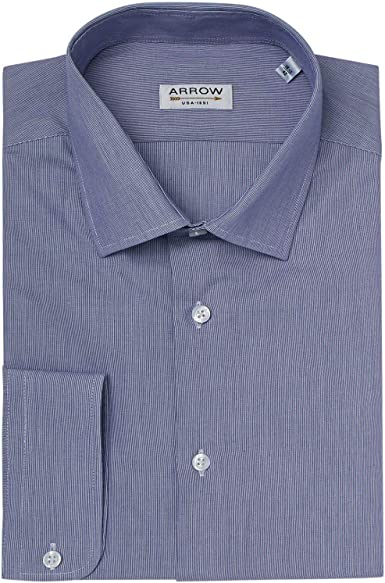 Arrow - Camisa de manga corta (ajustable), diseño de rayas ...