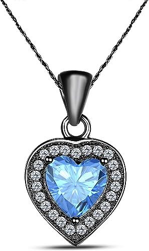 2 Ext. Sterling Silver CZ Open Heart Hook Earring /& Necklace Set 16