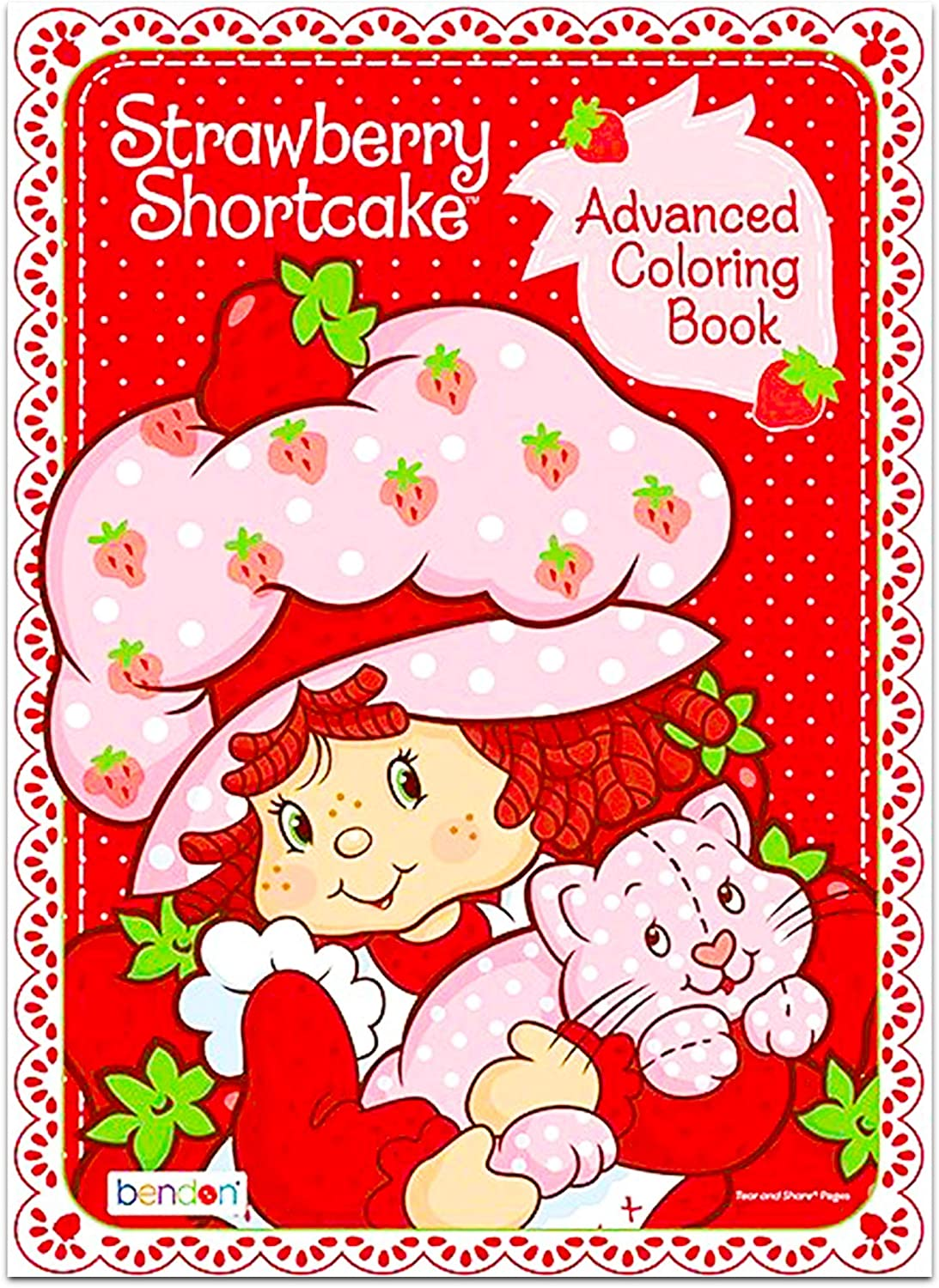 - Amazon.com: Bendon Strawberry Shortcake Advanced Coloring Book