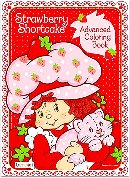 Amazon.com: Bendon Strawberry Shortcake Advanced Coloring Book - Friendship  Is A Special Treat!: Toys & Games