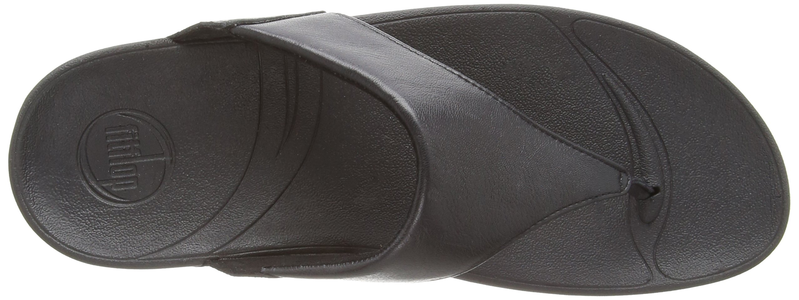 FitFlop Women's Lulu Thong Sandal,Black,9 M US by FITFLOP