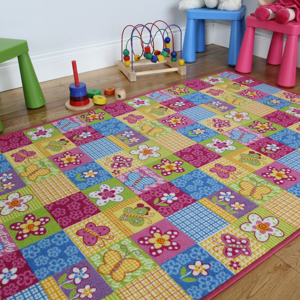 a girls carpet fairy en rug modern playmat teppich and princess s pink or children teppiche for kids kinderzimmer carpets fuchsia rugs