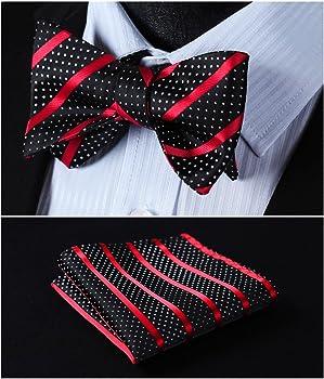 Men/'s Check and Plaids 6 Clip Suspenders Various Classic Braces  Self Bowtie New