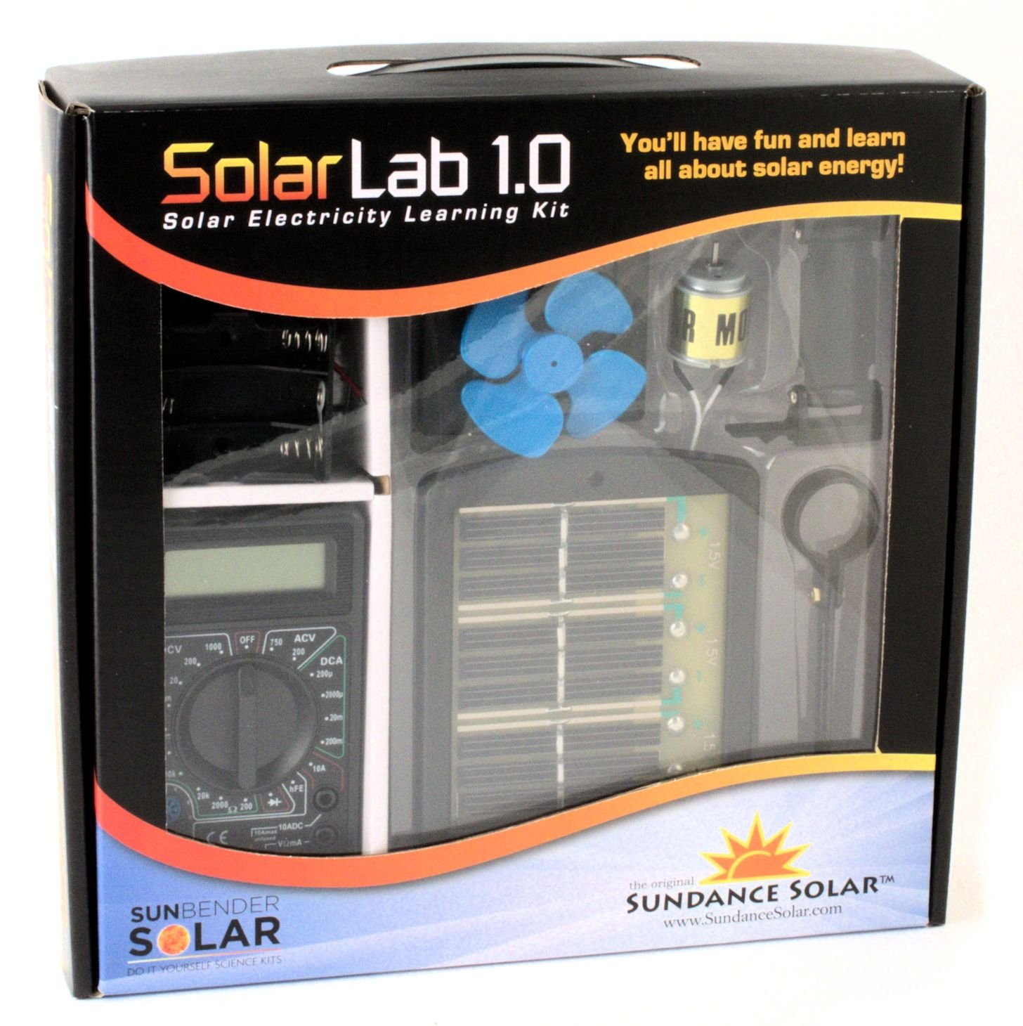 Amazon.com: Solar Lab 1.0 Electricity Learning Kit: Industrial ...