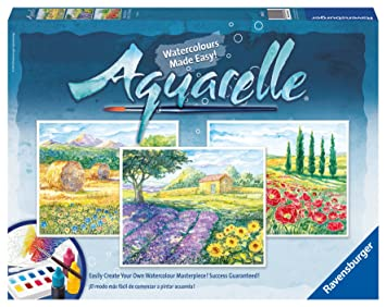 Ravensburger Aquarelle Maxi Landscapes 29475 6 Amazon Co Uk