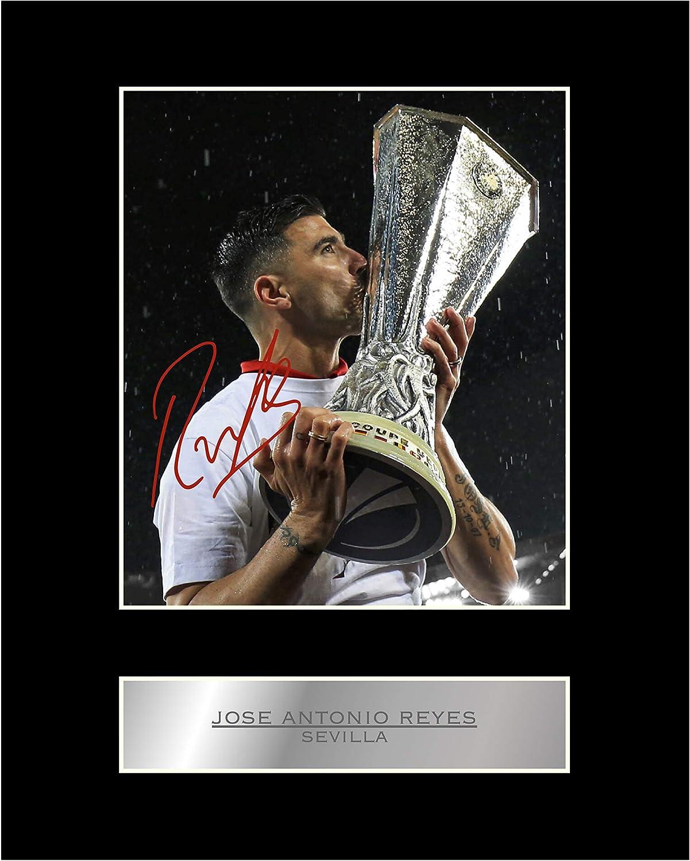 Foto enmarcada firmada de José Antonio Reyes del Sevilla FC #1 con autógrafo de regalo: Amazon.es: Hogar