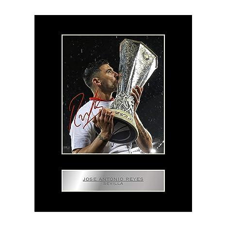 Foto enmarcada firmada de José Antonio Reyes del Sevilla FC ...