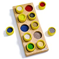 Excellerations - TM Touch and Match Sensory 11 x 4 inches Board for Kids, Educational Toy, Kids Toys