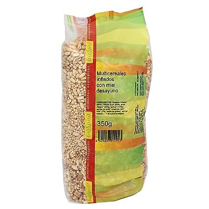 Biospirit Multicereales inflados con Miel Desayuno, 500 g