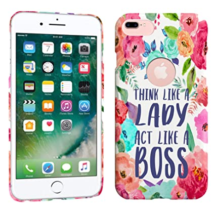 iphone 8 plus case lady boss