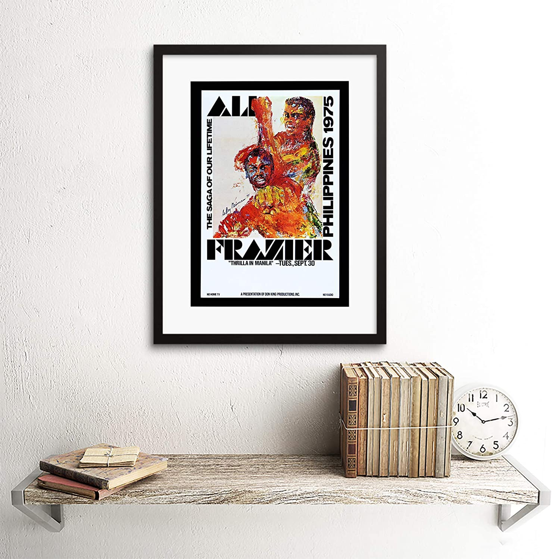 A4,A3,A2,A1 Vintage Sports Poster MUHAMMAD ALI v FRAZIER Home Wall Art Print