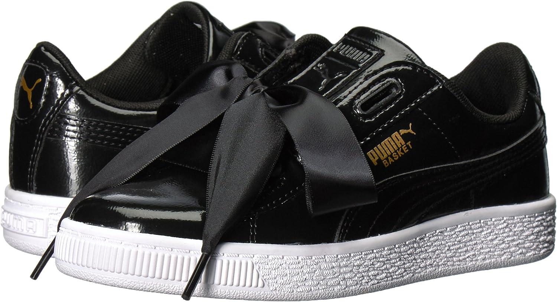 PUMA Baby Girls Basket Heart Glam Kids Sneaker: Puma: Amazon