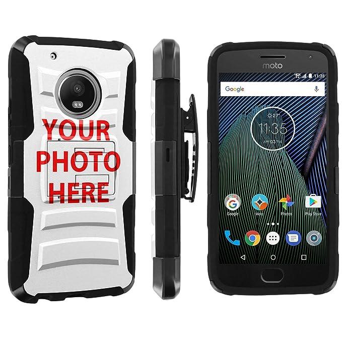 check out c4ae8 9d73e Amazon.com: [POPCulture] Custom Rugged Case For Moto G5 Plus ...