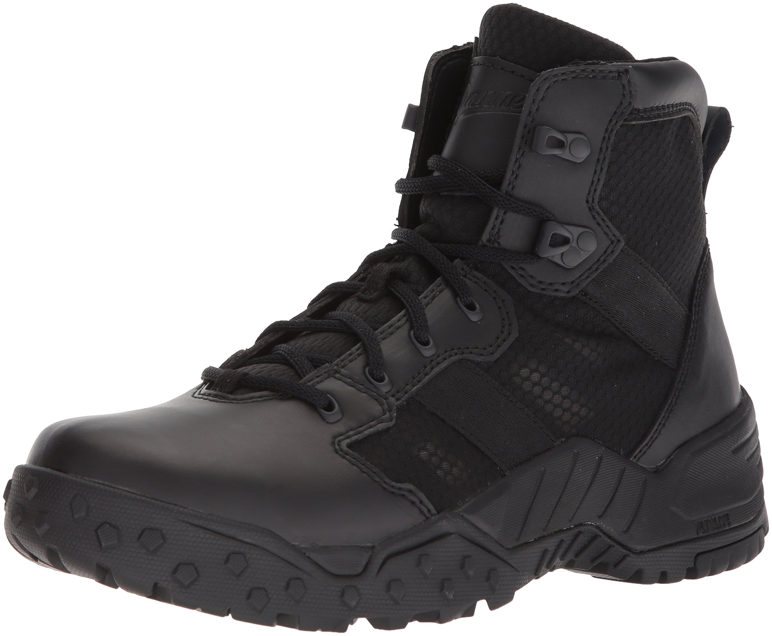Danner Men's Scorch Side-Zip 6'' Military and Tactical Boot, Black Hot, 11.5 D US by Danner