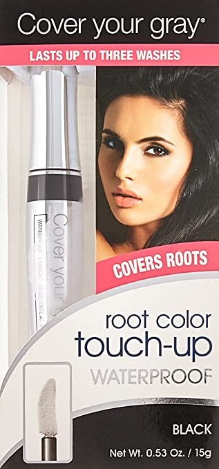 Amazon.com: Cover Your Gray Waterproof Root Touch-Up - Dark Brown, 0.53 Ounce: Beauty