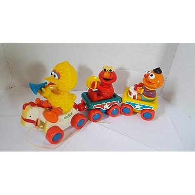 Sesame Street Musical Pull Train: Toys & Games