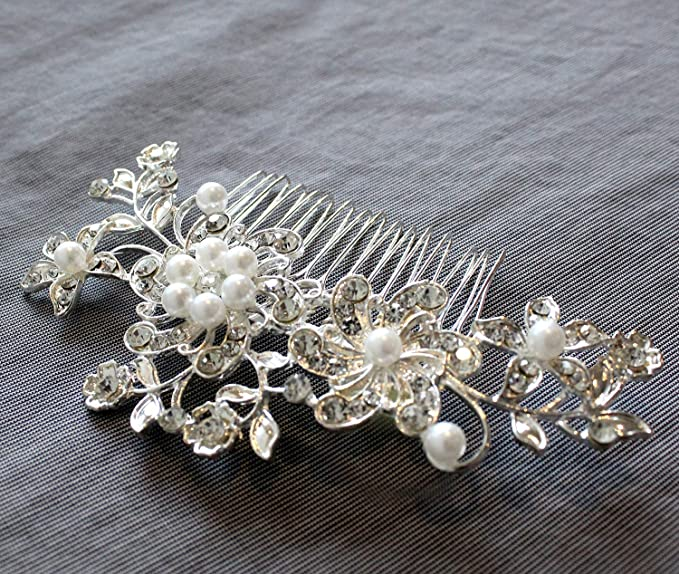Pearl Barrette Bridesmaid Set Be My Matron of Honor Bridal Hairclip Pearl Hairpins Matron of Honor Be my MOH Matron of Honor Gift