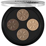lavera Beautiful Mineral Eyeshadow Quattro ∙ Colour Cappuccino Cream ∙ Vegan - Natural & Innovative Eye Make up - Organic Skin Care - Colour Cosmetics