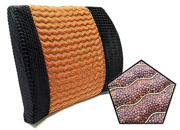 Amazon.com: Cuña de apoyo lumbar almohada con Beads – Rock ...