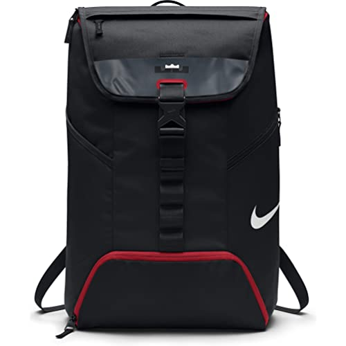 946e3194e Mens Nike LeBron Max Air Ambassador Backpack Black/University Red Size One  Size
