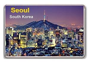 South Korea Seoul fridge magnet