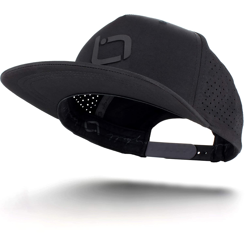 011b2e25e Longball Athletics Golf Hats for Men Women: Unisex Adjustable Snapback  Trucker Style Cap