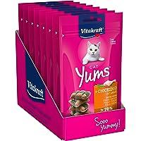 Vitakraft Cat Yums kurczak i kocia trawa 40 g, 9 szt. w opakowaniu