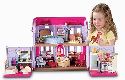 Amazon Com Fisher Price Loving Family Family Manor Toys Games