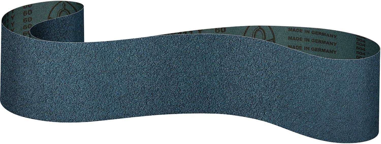 Klingspor CS 411 Y 10 unidades, 150 x 2000 mm, grano 40 F4G Bandas de lija