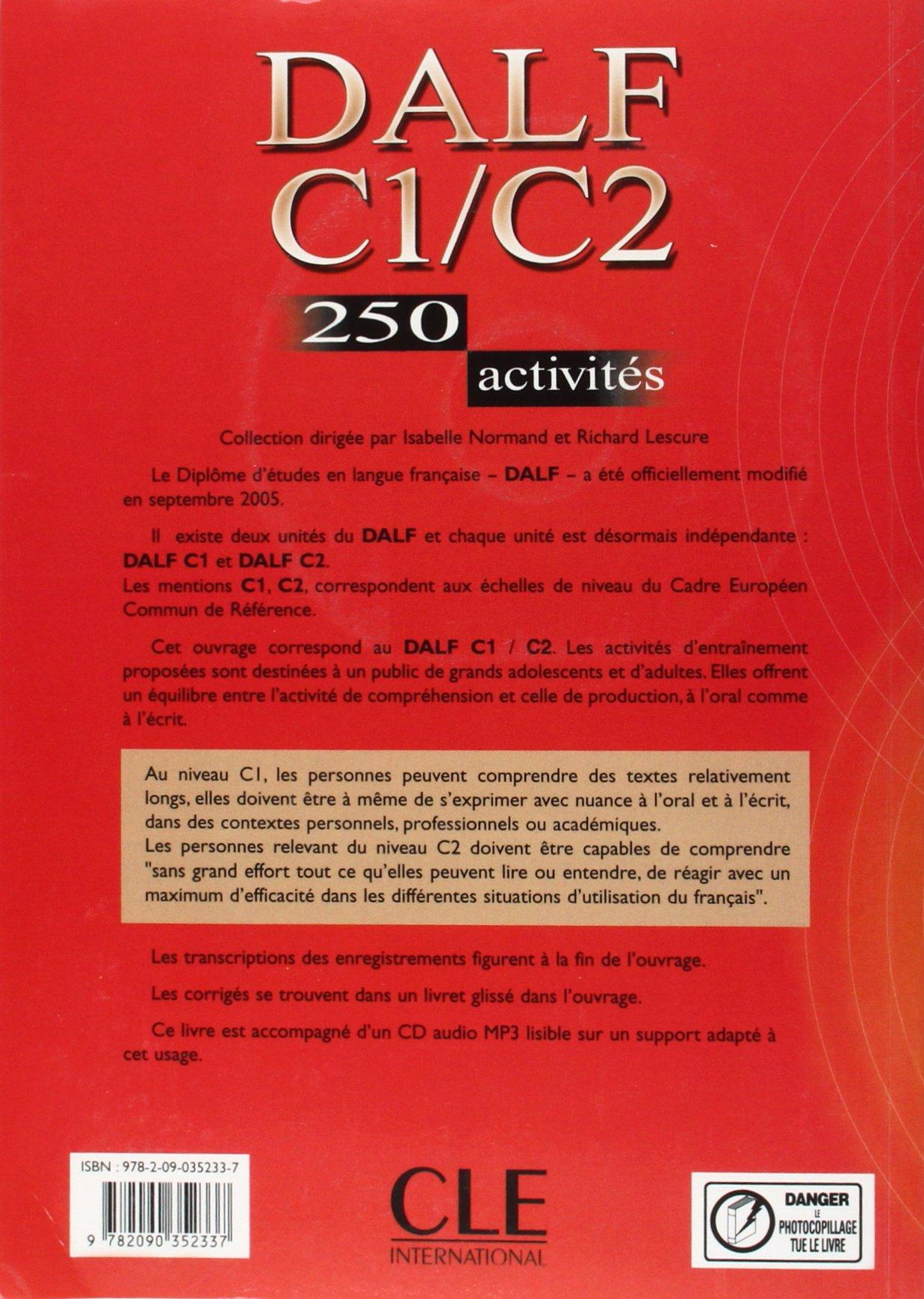 dalf c1 c2 250 activités