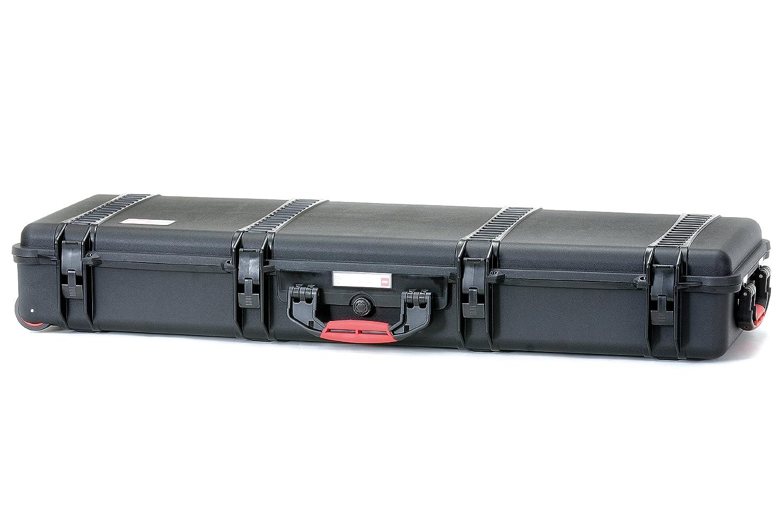 HPRC 5400WE Hardcase mit Rollen (TX01 Material, 64 Liter Volumen, ohne Inhalt) schwarz