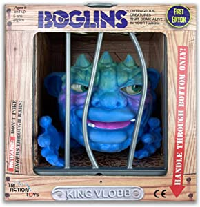"""Boglins King Vlobb 8"""" Collectible Figure with Super Stretchy Skin & Movable Eyes and Mouth, Popular Retro Toy from The 80's for Kids and Collectors"""